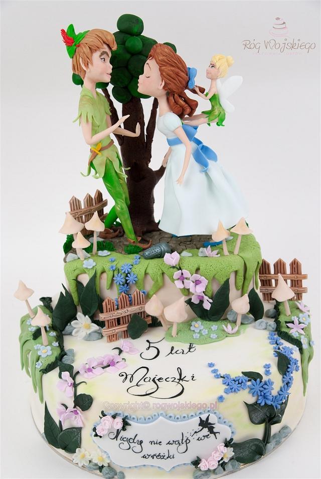 Peter Pan Tinkerbell Cake / Tort Piotruś Pan i Dzwoneczek
