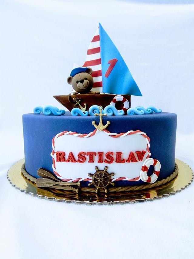 Little nautical cake