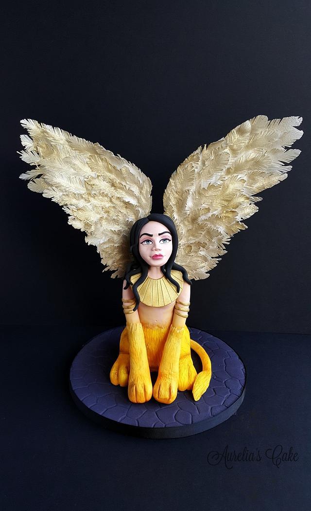 Sphinx- Fantastic Creatures Challenge
