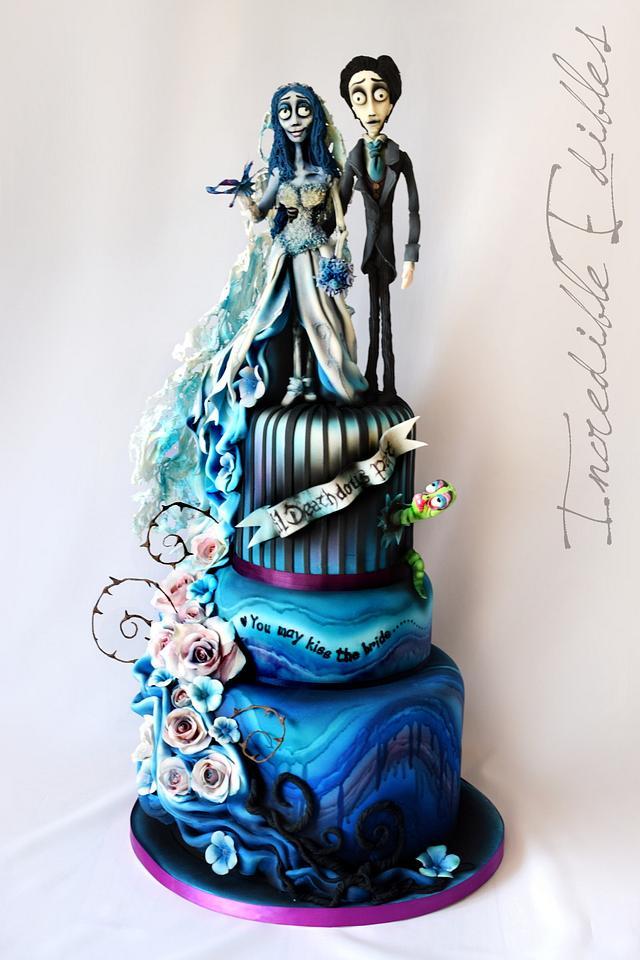 Corpse Bride Wedding Cake Cake By Vicki S Incredible Cakesdecor