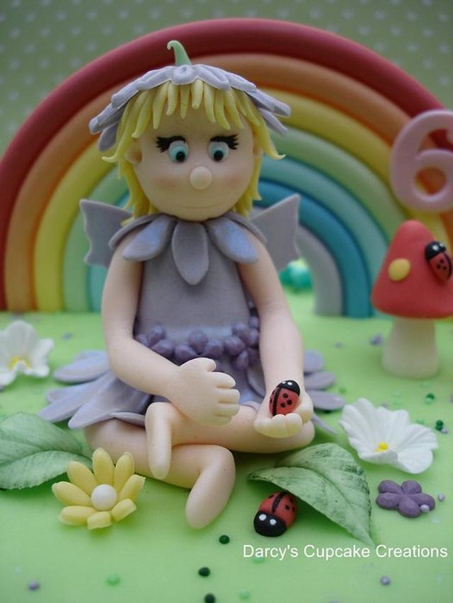 Close up of flower fairy