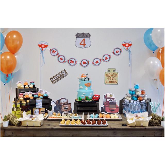 Tommaso's birthday party