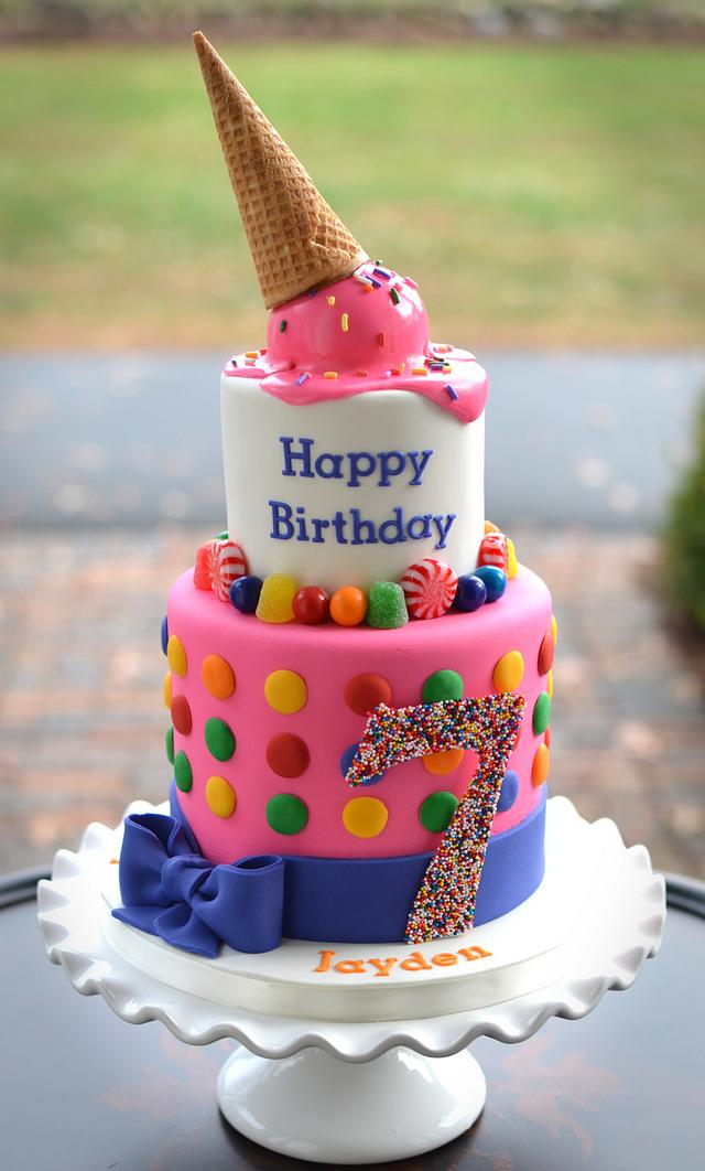 Brilliant Katy Perry Cake Cake By Elisabeth Palatiello Cakesdecor Personalised Birthday Cards Veneteletsinfo