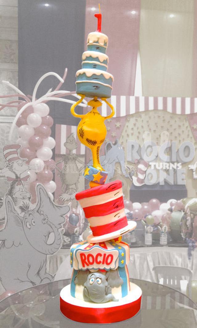 Stupendous Dr Seuss Birthday Cake Cake By The Bunny Baker Cakesdecor Funny Birthday Cards Online Alyptdamsfinfo
