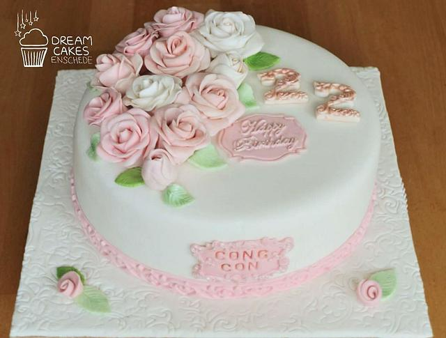 Roses cake!