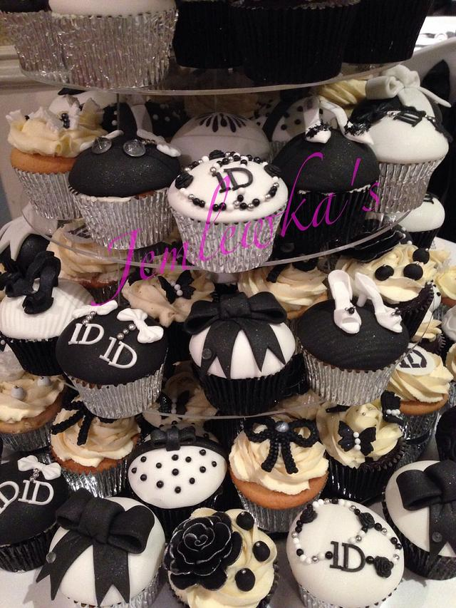 Swell One Direction Themed Cupcakes For 18Th Birthday Cake By Cakesdecor Personalised Birthday Cards Paralily Jamesorg