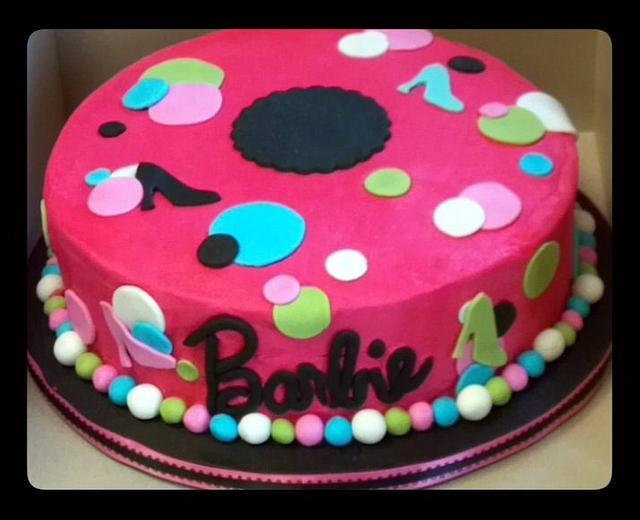 Barbie Shoe Cake