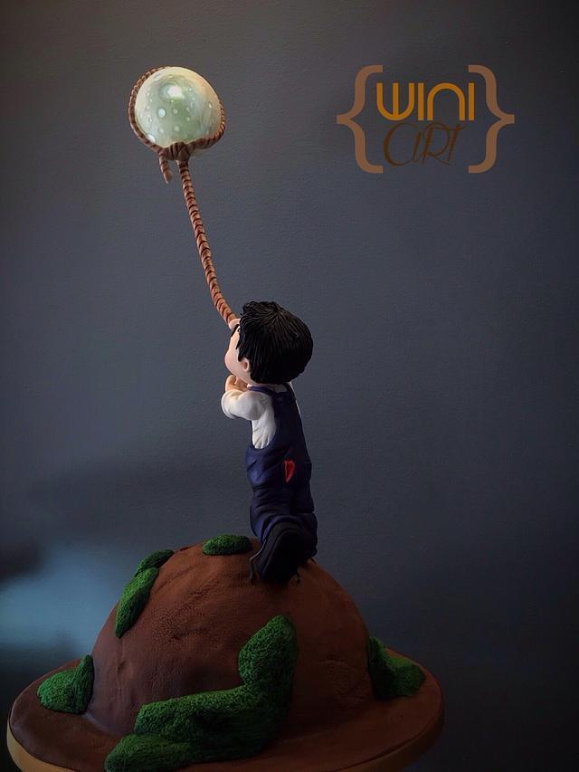 """John catch the moon"""