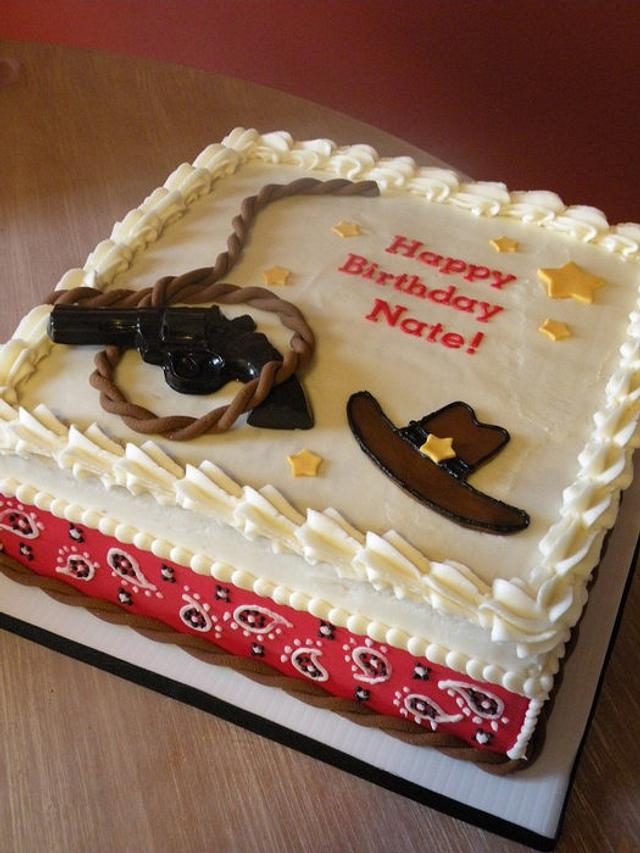 Outstanding Cowboy Cake Cake By Dani Johnson Cakesdecor Funny Birthday Cards Online Inifofree Goldxyz