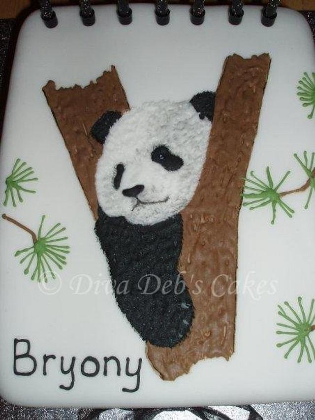 Giant Panda Cake