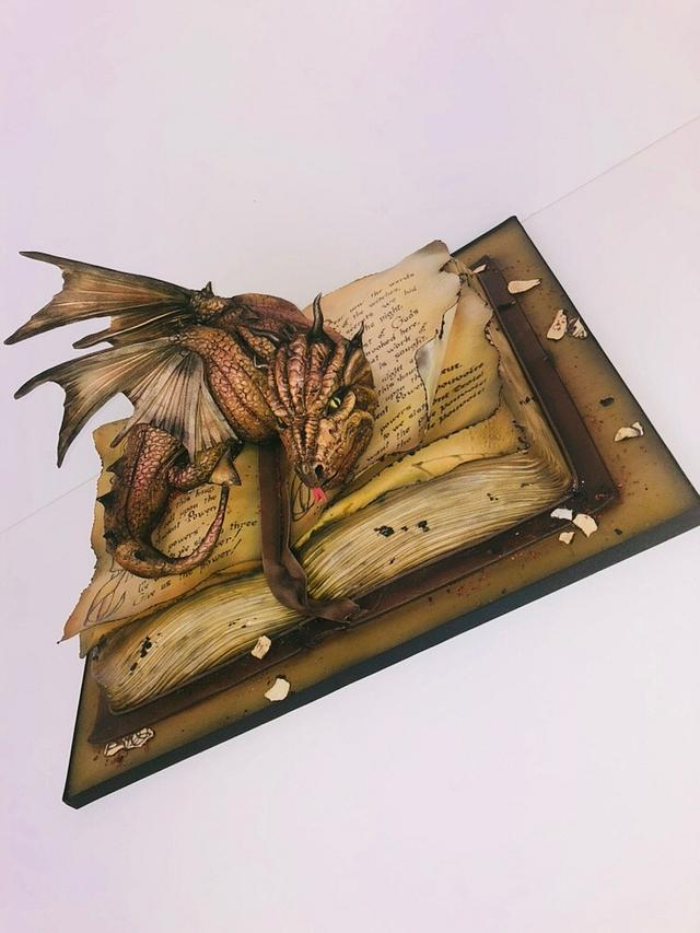 Dragon cake game of Thrones