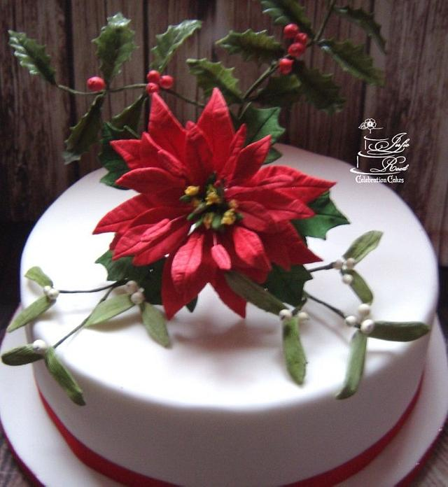 CPC Red & Green Collaboration - Poinsettia, Holly & Mistletoe x