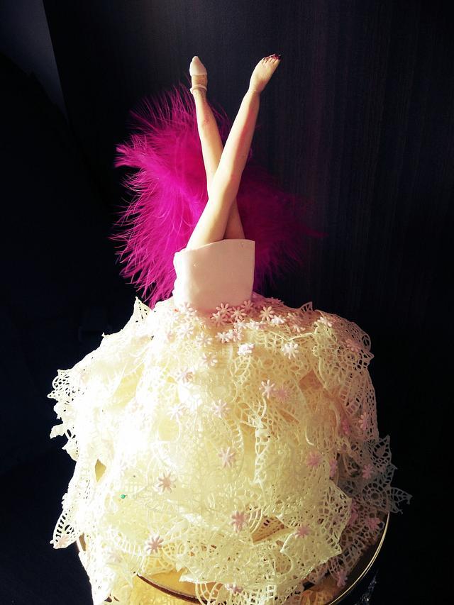 Glamorous cake