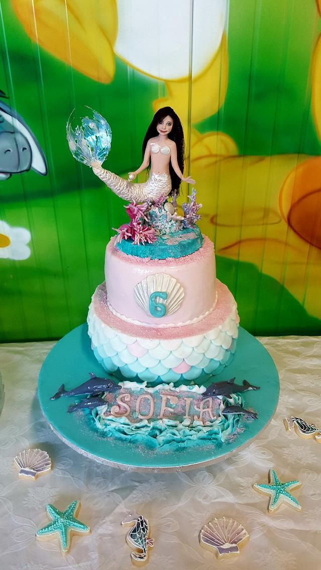 Siren cake