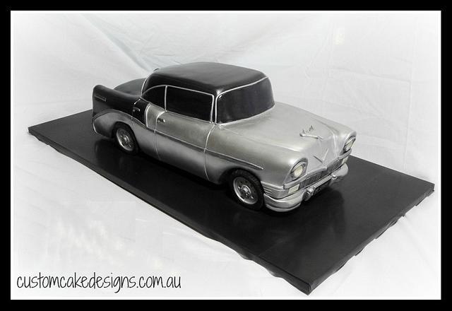 1956 Chevy Car Cake