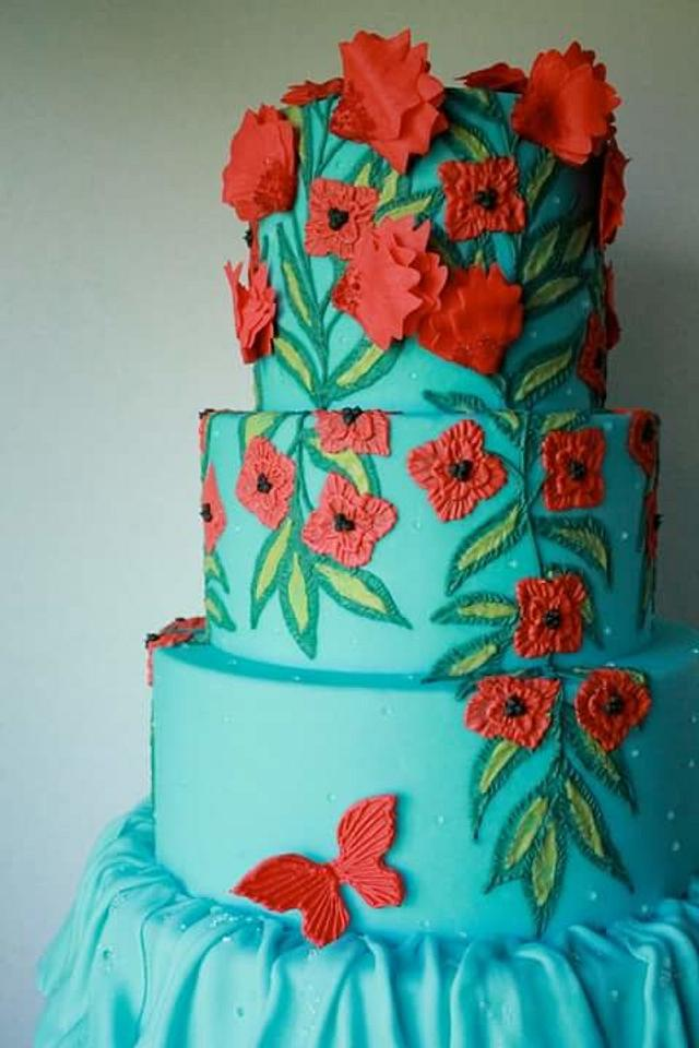 Couture cake NF cake show 2015