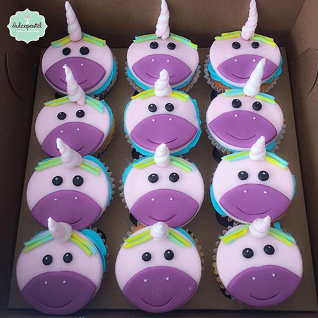 Cupcakes Unicornio Medellin