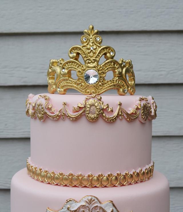 Princess Camila's 3 Tier Cake