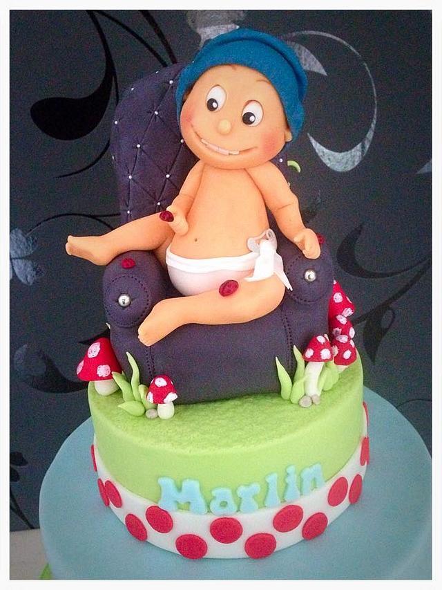 Marlins Birthday Cake
