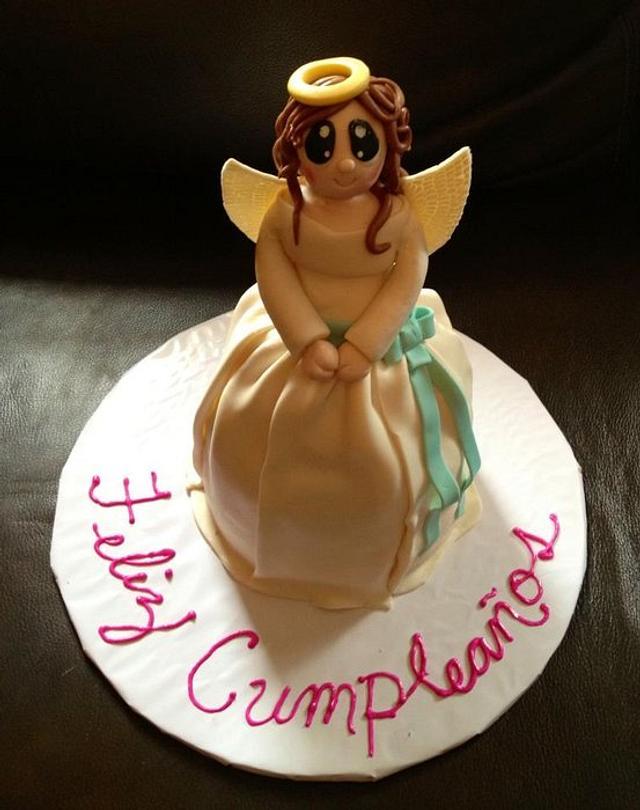 Angel cake - Figurine