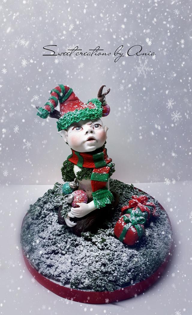 Christmas faun