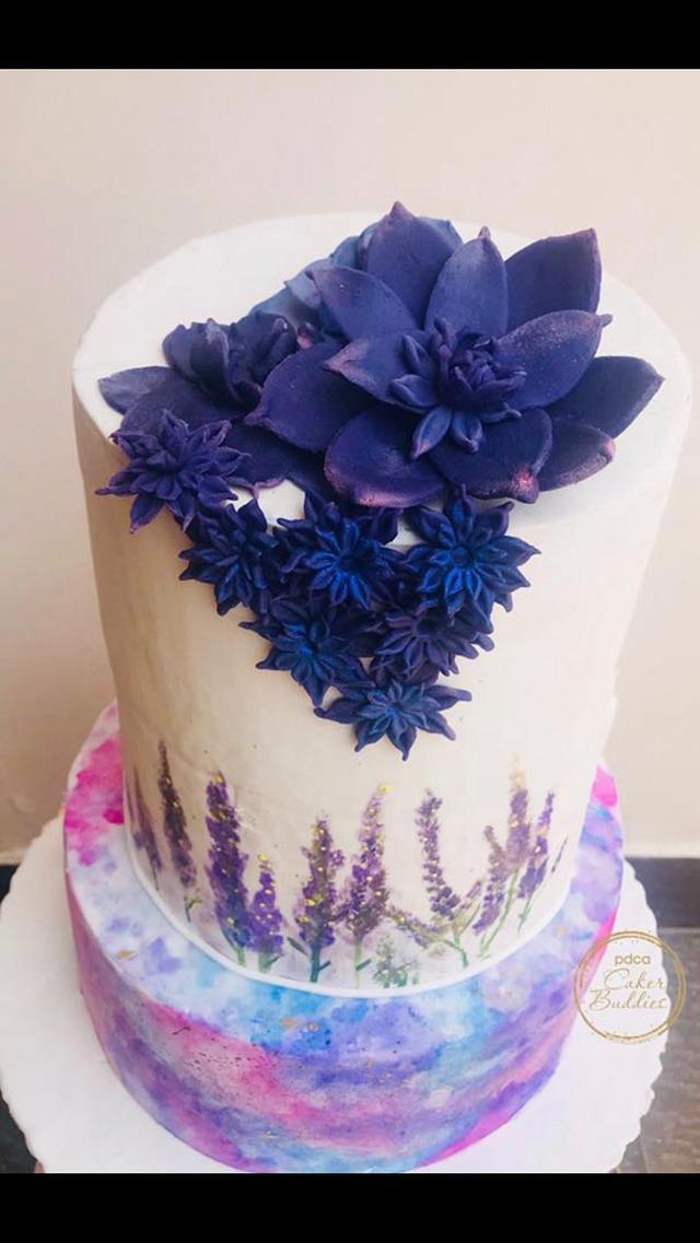 Cakerbuddies ultra violet collaboration -Harmony