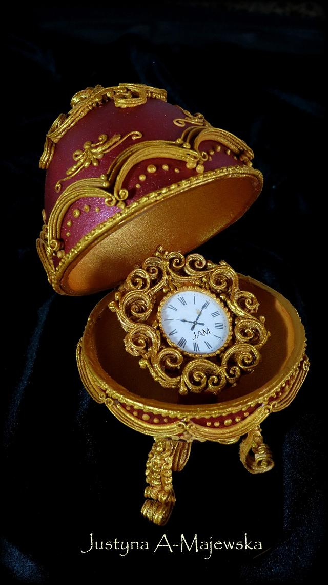 Faberge Egg Royal Icing