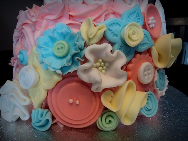 Buttons, Flowers and Ruffles