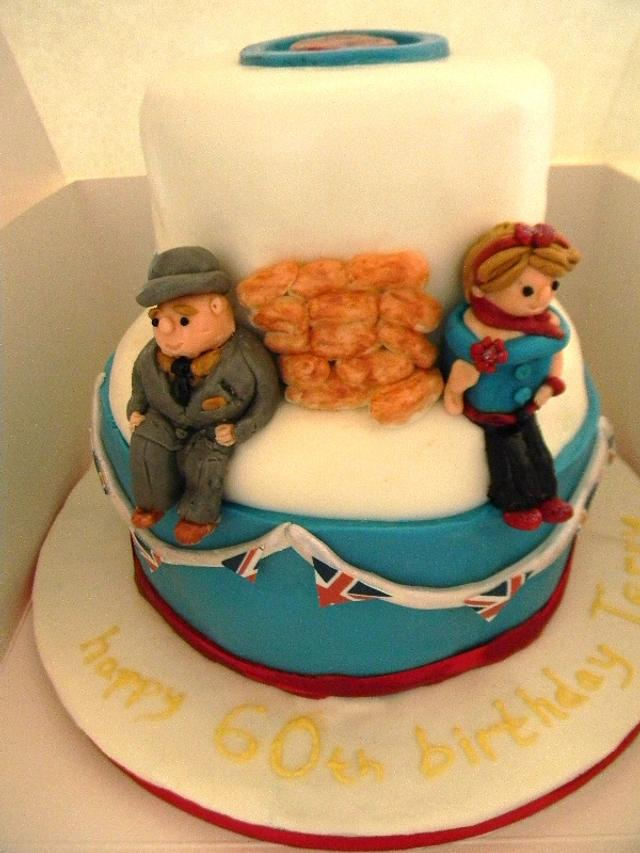 60s cake