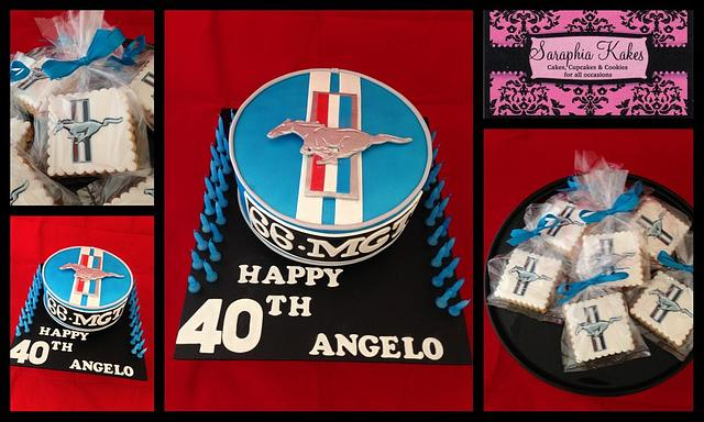 40th Male Birthday Cake
