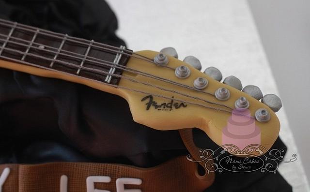 Fender Stratocaster Electric Guitar Cake