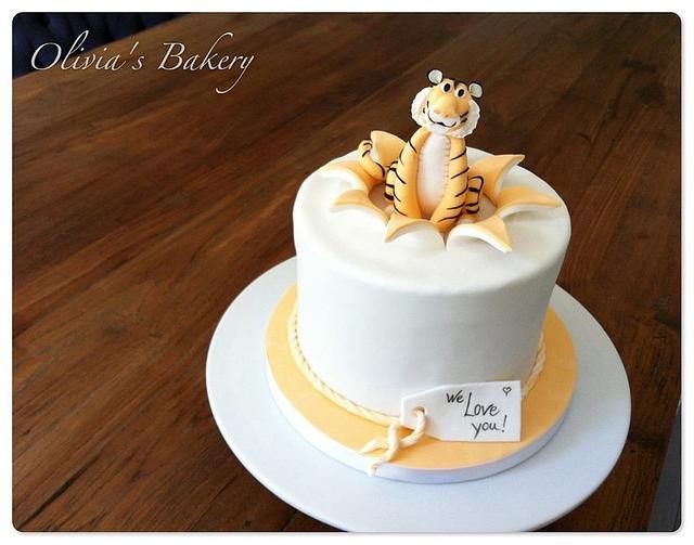 Little Tiger Cake