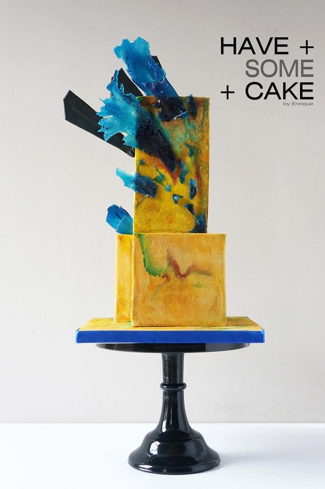 Shattered Image - Sugar Art 4 Autism Collaboration