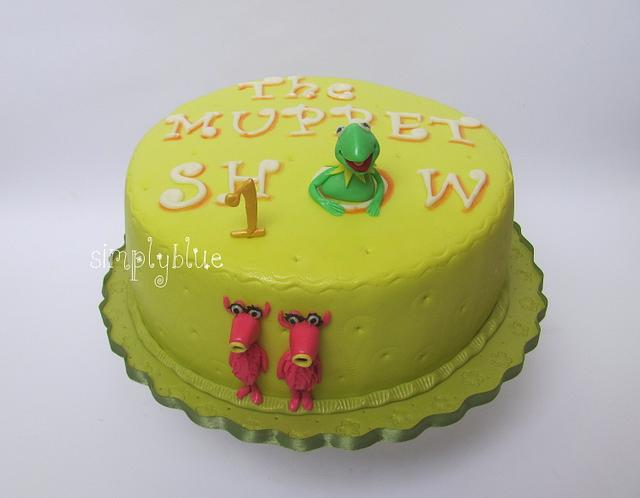The muppet show cake