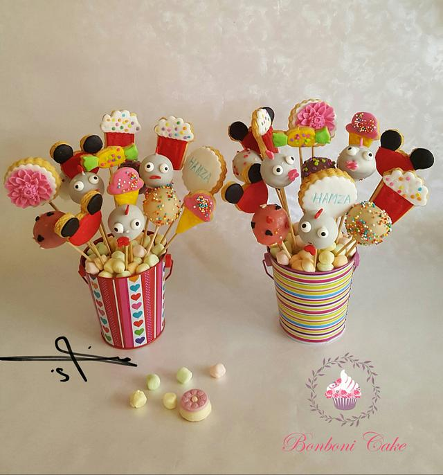 Cookies and cake pops