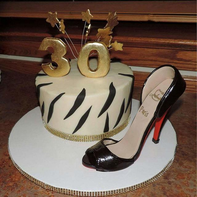 Miraculous High Heel Birthday Cake Cake By Chefby2 Cakesdecor Birthday Cards Printable Inklcafe Filternl