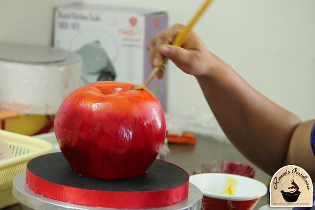 3D Apple Cakes