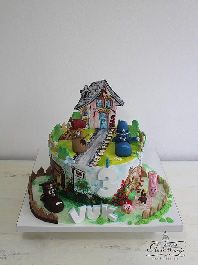 The Shoe People cake