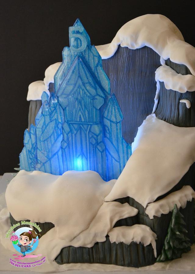 Let it GOOOOO, Frozen Cake