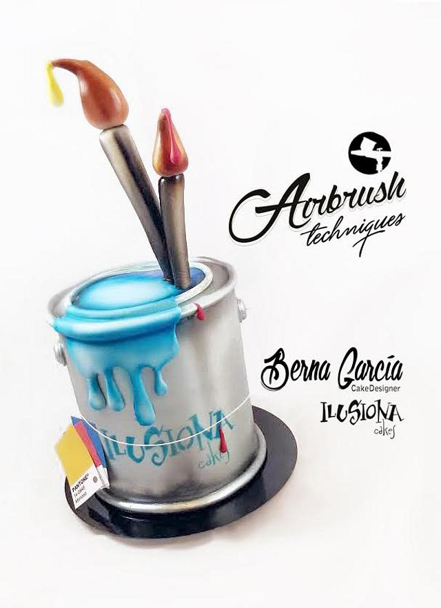 Airbrush Paint Can