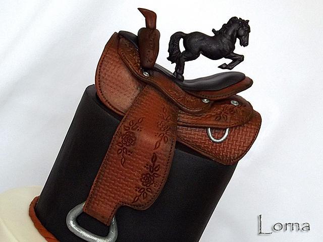 Horse Saddle Cake