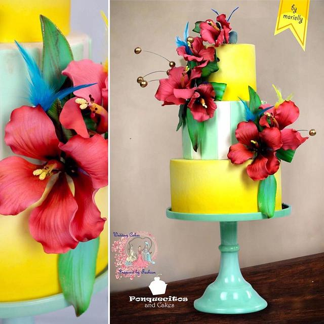 Wedding Cakes Inspired By Fashion A Worldwide Collaboration 🌺