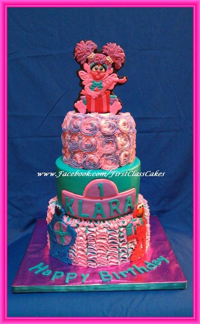 Sesame Street Abby Cadabby Cake Cake By First Class