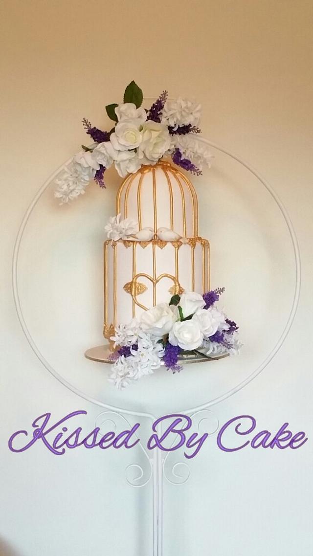 Hanging Birdcage Cake