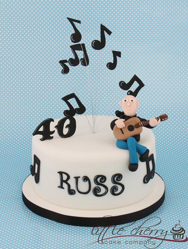 Guitar/Music Cake
