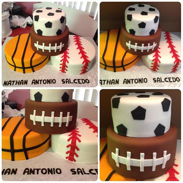 Fantastic Sports Birthday Cake Cake By Delightful Creations By Cakesdecor Funny Birthday Cards Online Bapapcheapnameinfo