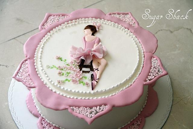 ballerina cake!!