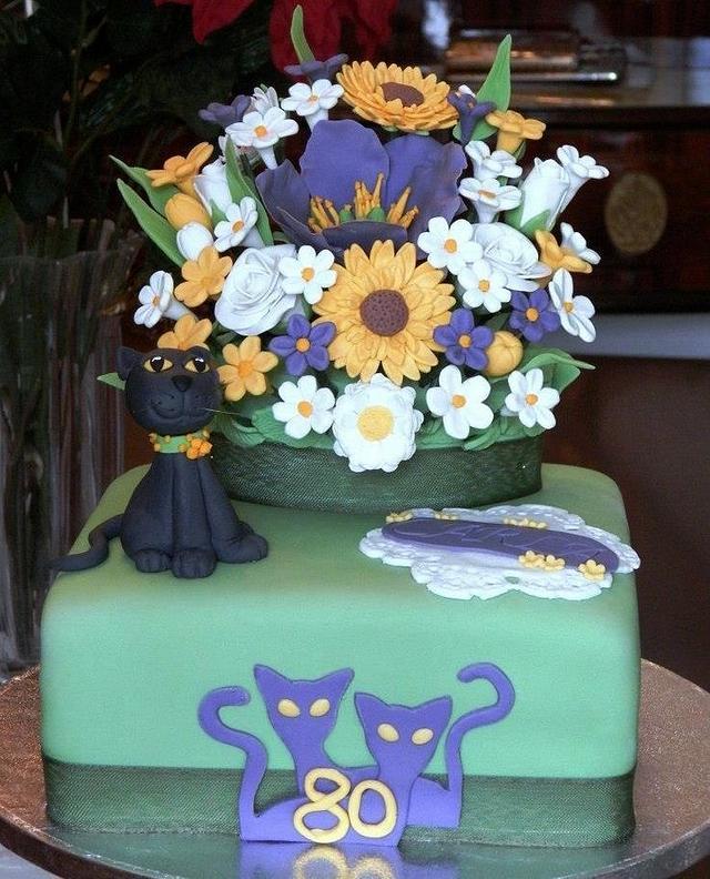 Amazing Grandmother Carla Birthday Cake Cake By Ladolcevit Cakesdecor Funny Birthday Cards Online Kookostrdamsfinfo
