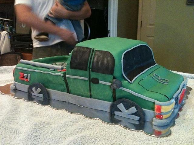 4D GMC Truck
