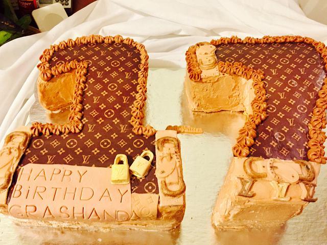 Phenomenal Birthday Cake Number 17 Cake By Sam77 Cakesdecor Personalised Birthday Cards Akebfashionlily Jamesorg